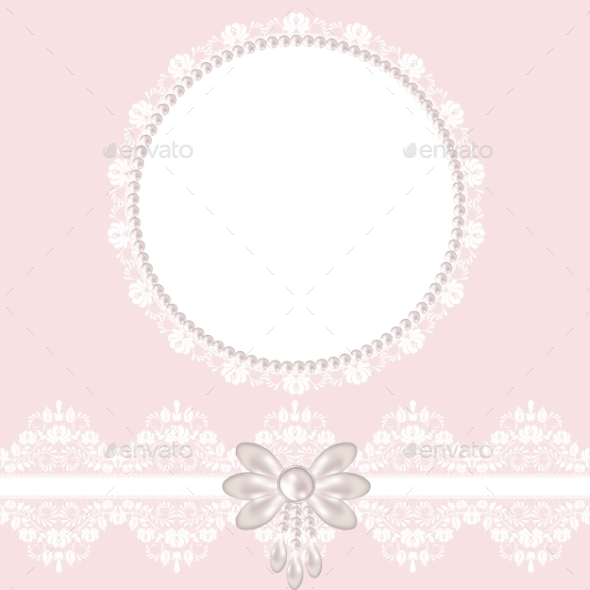 GraphicRiver Lace Fabric Background 8914012