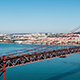 Traffic on the 25 de Abril Bridge 835 - VideoHive Item for Sale