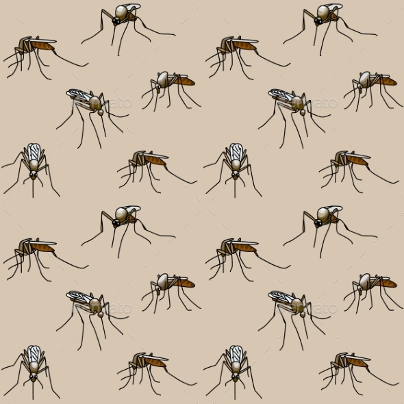 GraphicRiver Biting Mosquitoes 8914027