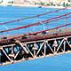 Traffic on the 25 de Abril Bridge 836 - VideoHive Item for Sale