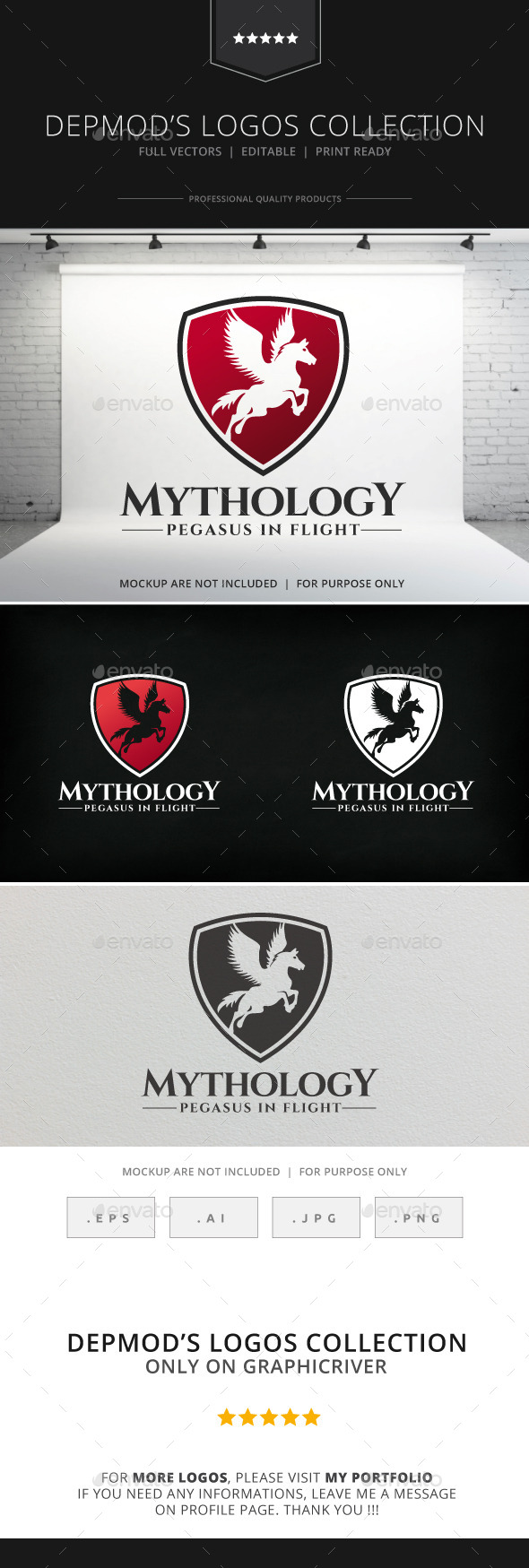 GraphicRiver Mythology Logo 8914051