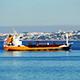Cargo Ship Anchored near Port Lisbon 838 - VideoHive Item for Sale