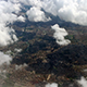 Airplane Flying over City and Clouds 851 - VideoHive Item for Sale