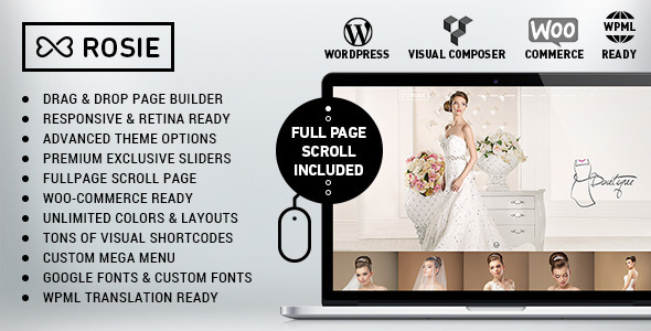 ThemeForest ROSIE Multi-Purpose WordPress Theme 8838581