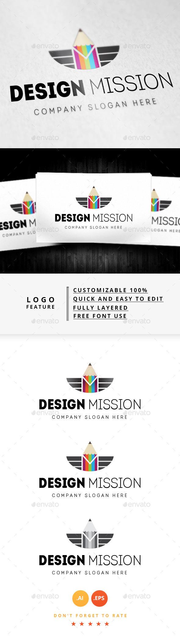 GraphicRiver Design Mission Logo 8915839