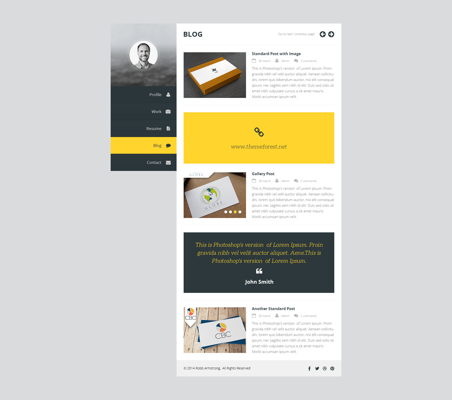 premium layers html vcard resume template by premiumlayers premium layers html vcard resume template