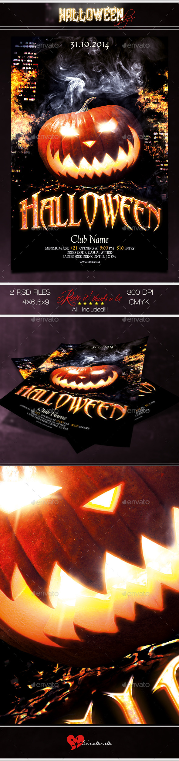 GraphicRiver Halloween Flyer 5 8915939