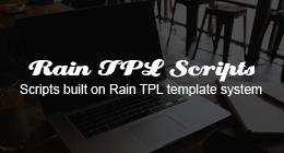 Rain TPL Scripts