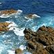 Waves Crashing on Rocks 898 - VideoHive Item for Sale