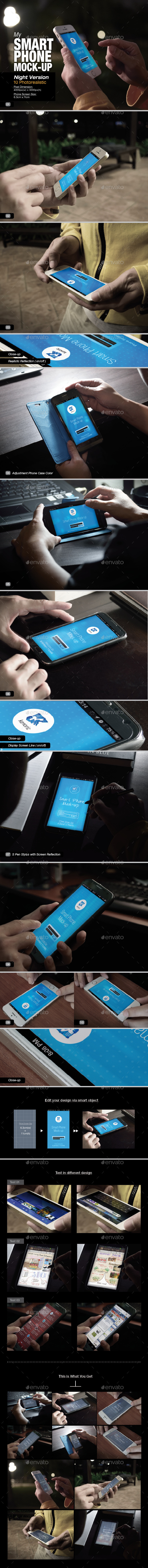 GraphicRiver Smart Phone Mock-Up 01 8907158