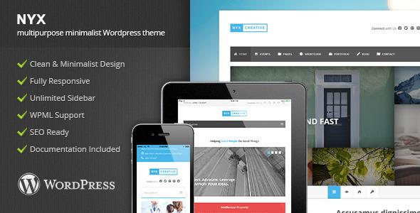 ThemeForest NYX Multipurpose Wordpress Theme 8850534