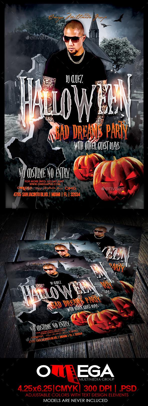 GraphicRiver Bad Dreams 8916316