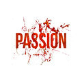Passion Typographic Grunge Design - PhotoDune Item for Sale
