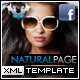 Natural Facebook Fan Page - ActiveDen Item for Sale