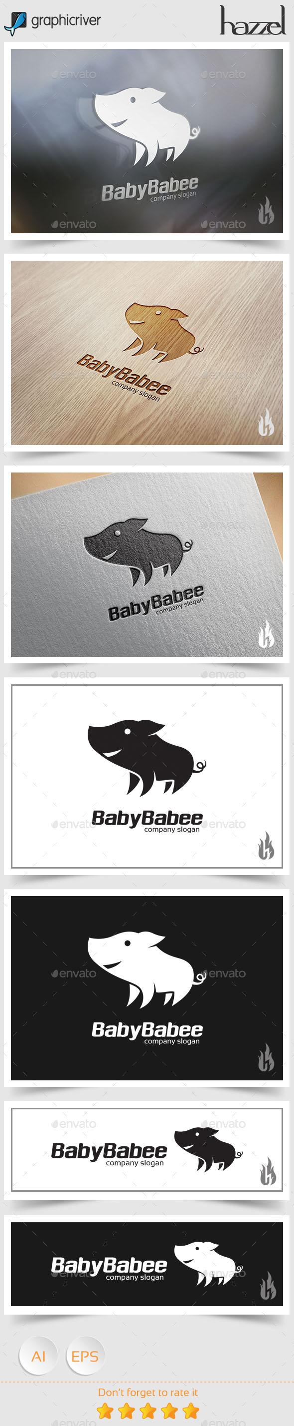 GraphicRiver Baby Babee Logo 8916598