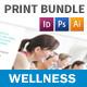Wellness Center Print Bundle - GraphicRiver Item for Sale