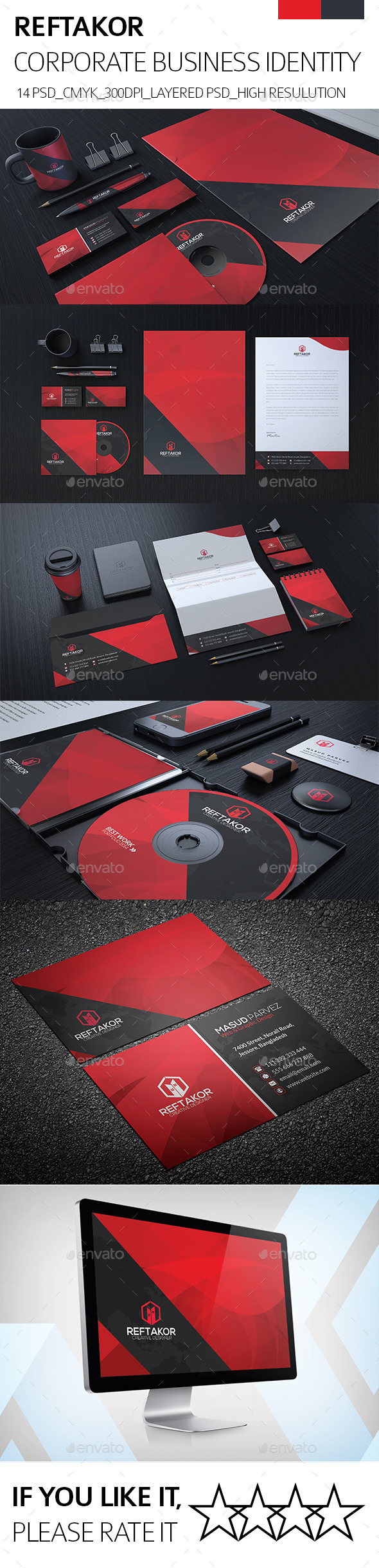 GraphicRiver REFTAKOR Corporate Identity 8917957