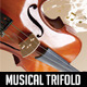 Tri-fold brochure for Musical Artist - GraphicRiver Item for Sale