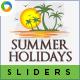 Summer Travel Sliders - GraphicRiver Item for Sale