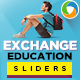 Student Exchange Sliders - GraphicRiver Item for Sale