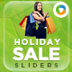 Holiday Sale Sliders - GraphicRiver Item for Sale