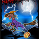 Witch on a Broomstick - GraphicRiver Item for Sale