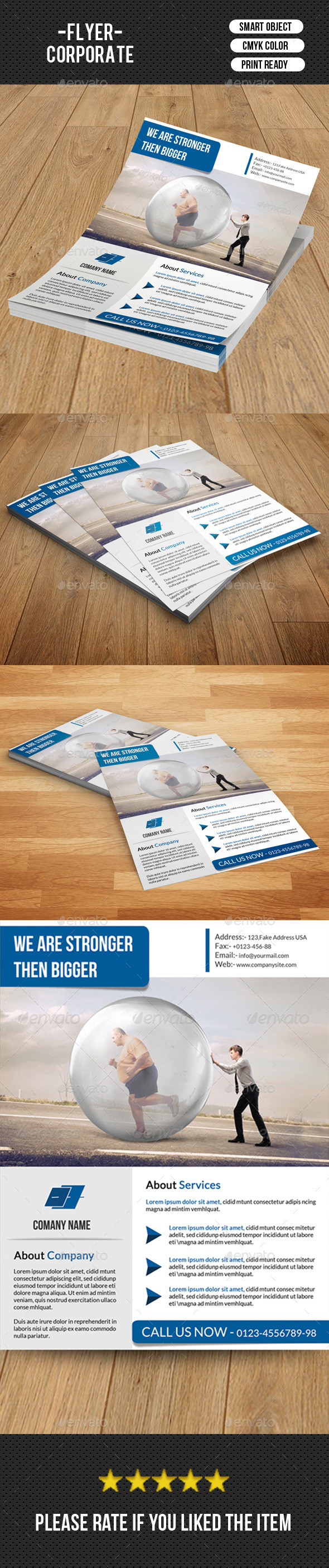 GraphicRiver Corporate Flyer Template-V131 8918801