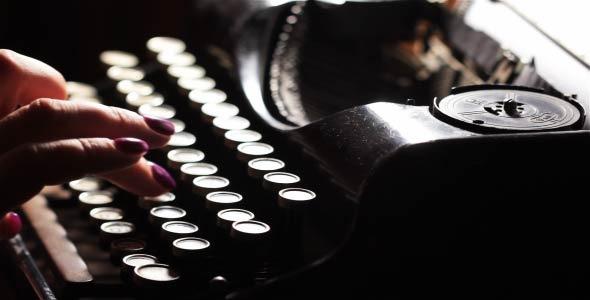 Old Typewriter 8