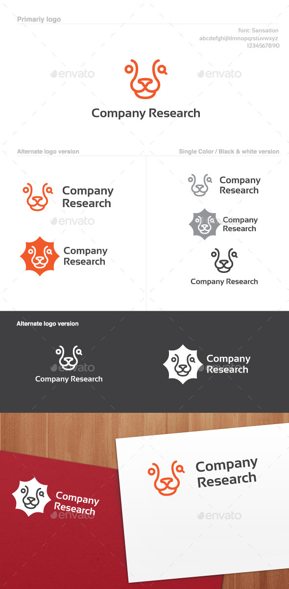 GraphicRiver Company Research Logo 8907522