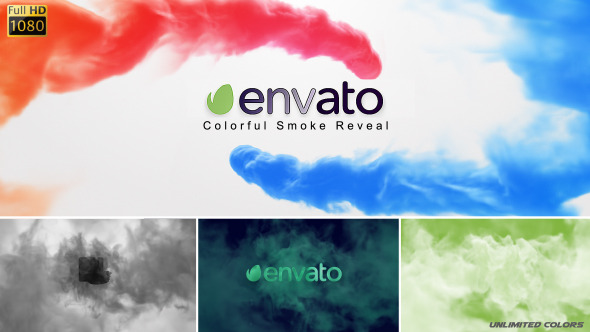 Colorful Smoke Reveal