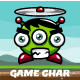 Copter Alien Game Character Sprite Sheets - GraphicRiver Item for Sale