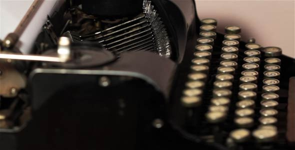 Old Typewriter 6