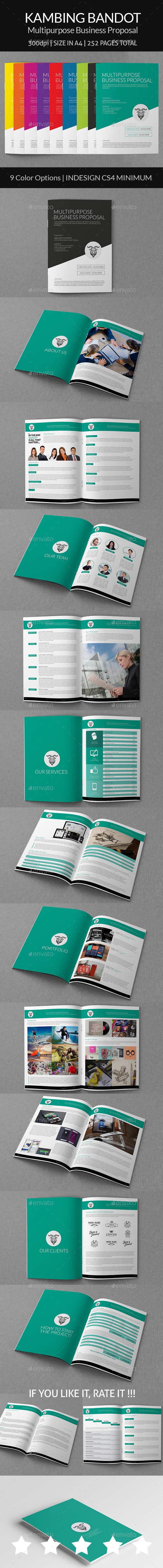 GraphicRiver Kambing Bandot Multipurpose Business Proposal 8920912