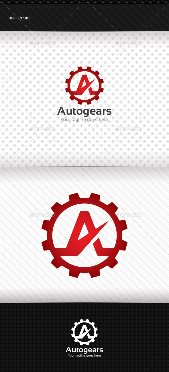 GraphicRiver Autogears Logo 8921183