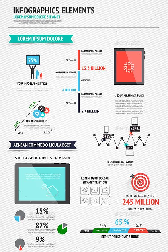 GraphicRiver Modern Infographics Set 8921275