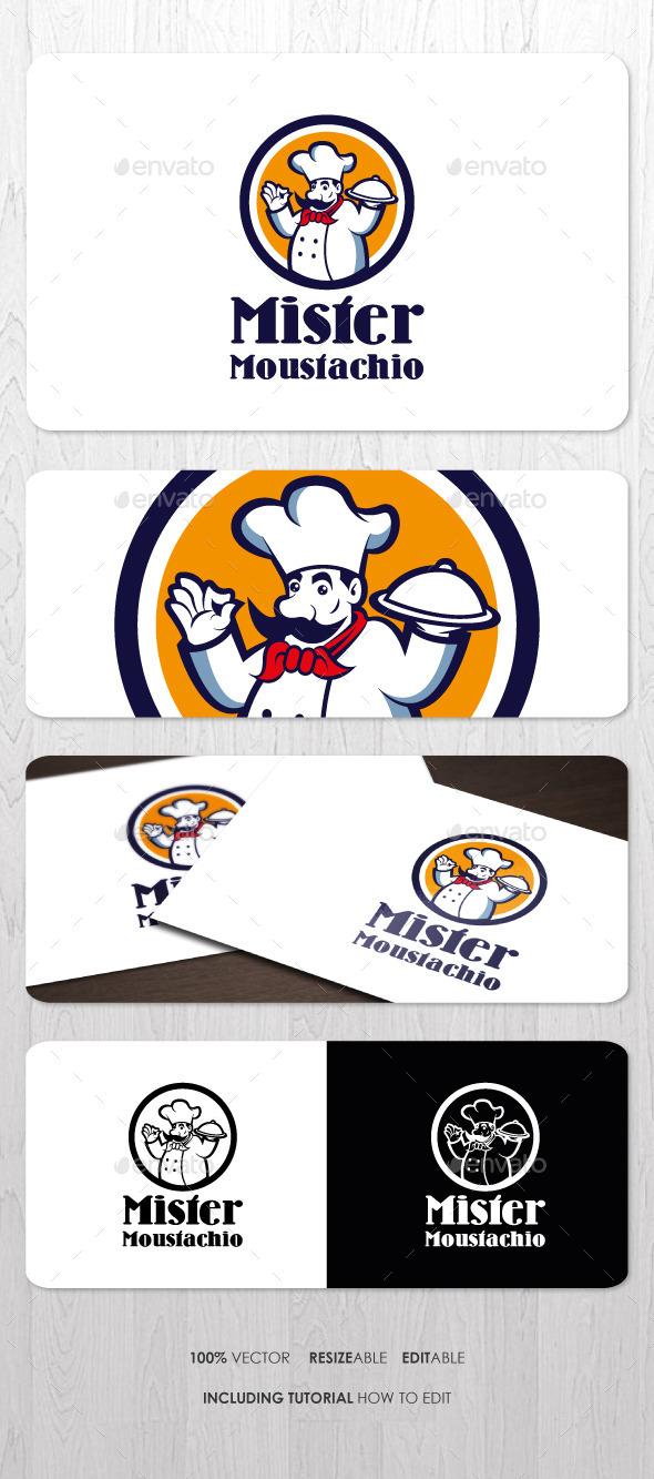 GraphicRiver Food & Restaurant Business Logo 8921281