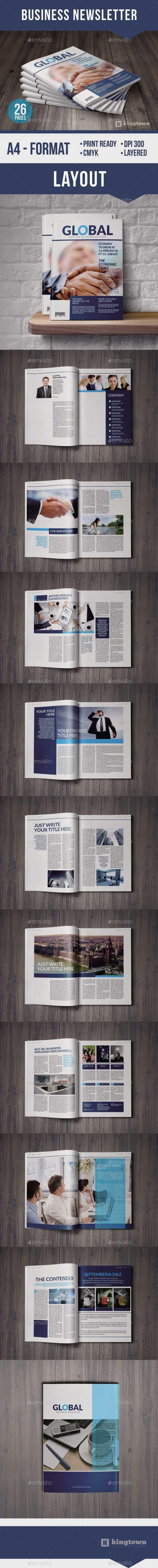 GraphicRiver Business Newspaper 8902364