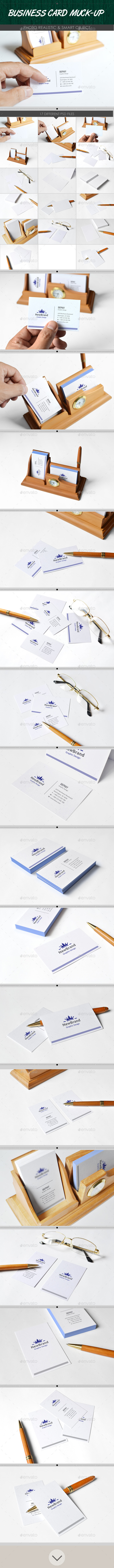 GraphicRiver Realistic Business Card Mockups 8921720
