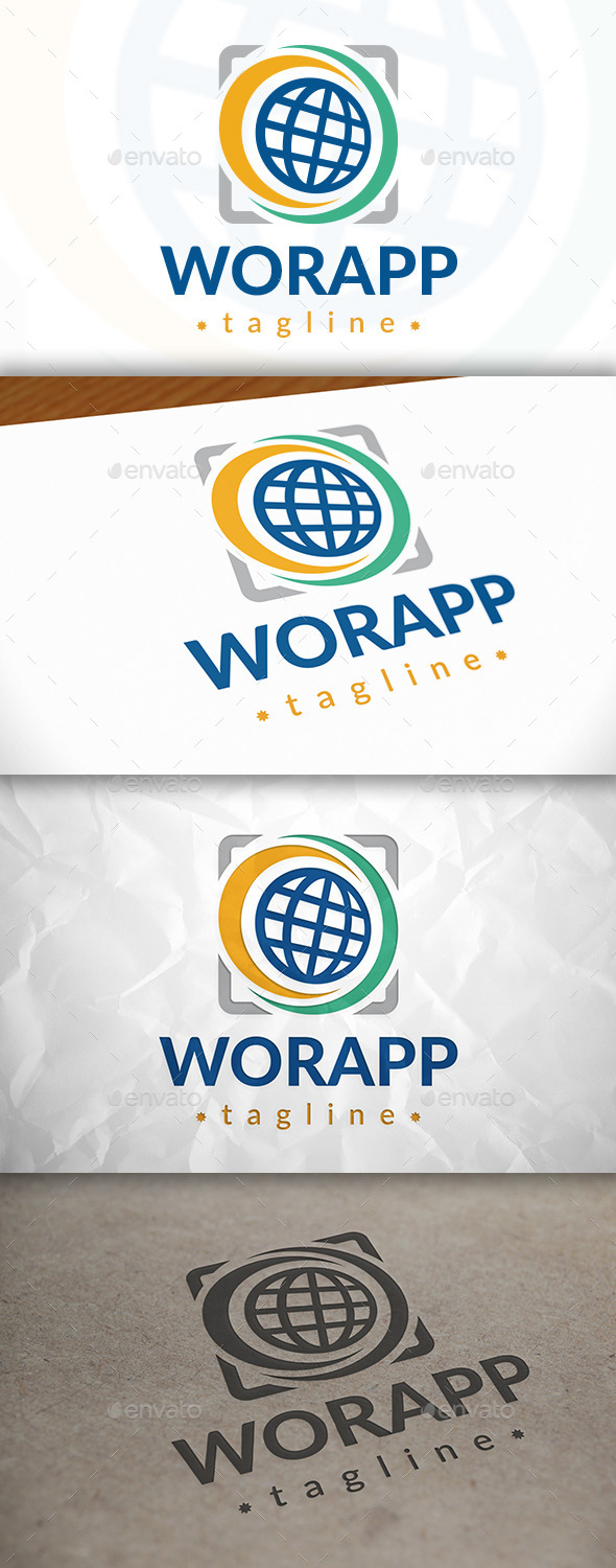 GraphicRiver World App Logo 8921948