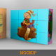 Cubes Puzzle Mockup - GraphicRiver Item for Sale
