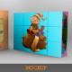 Cubes Puzzle Mockup - GraphicRiver Item for Sale