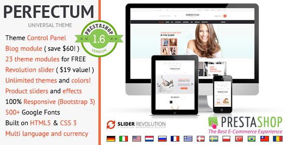 Perfectum – Premium Responsive Prestashop theme Download