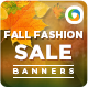 Fall Sale Banners - GraphicRiver Item for Sale