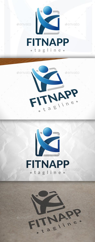 GraphicRiver Fitness App Logo 8922511