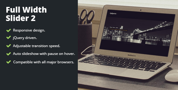Full Width Slider 2 - CodeCanyon Item for Sale