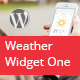 Weather Widget One - CodeCanyon Item for Sale