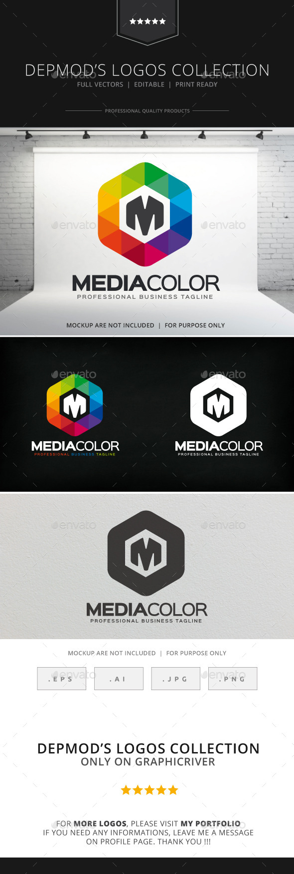 GraphicRiver Media Color Logo 8922642