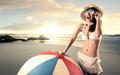 Having fun at the beach - PhotoDune Item for Sale