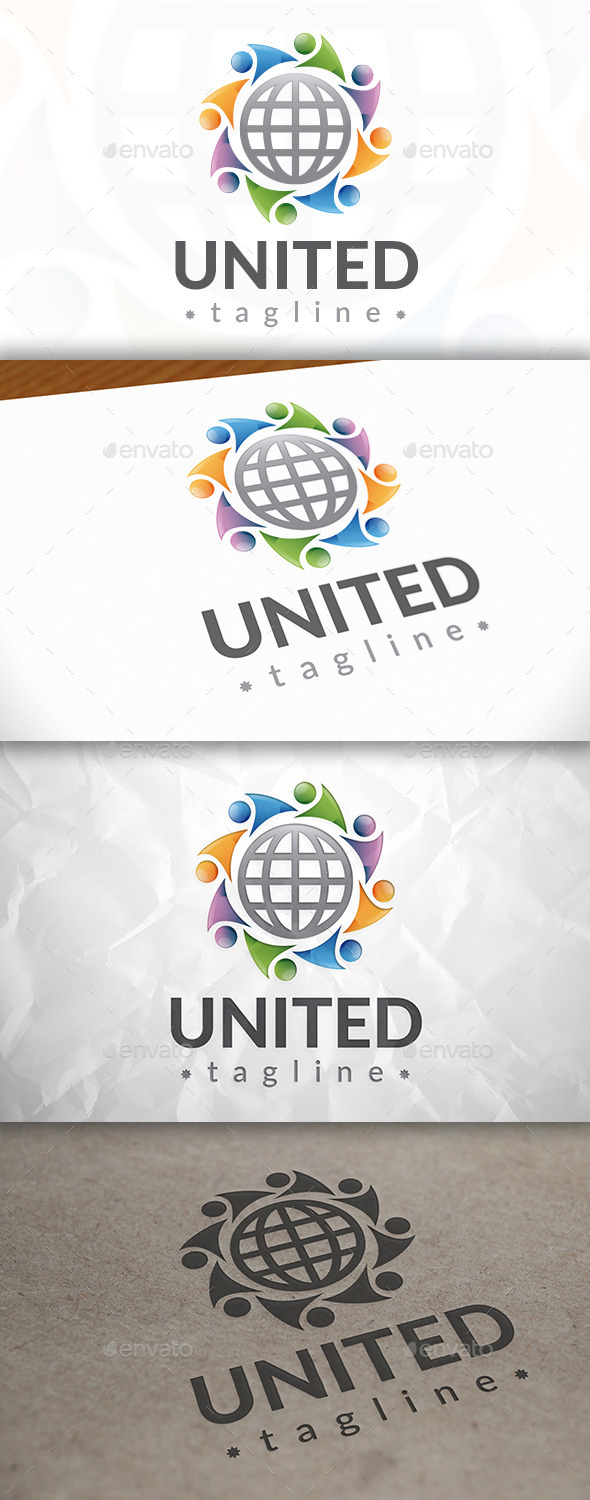 GraphicRiver United World Logo 8922746