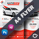 Auto Showroom Flyer Templates - GraphicRiver Item for Sale